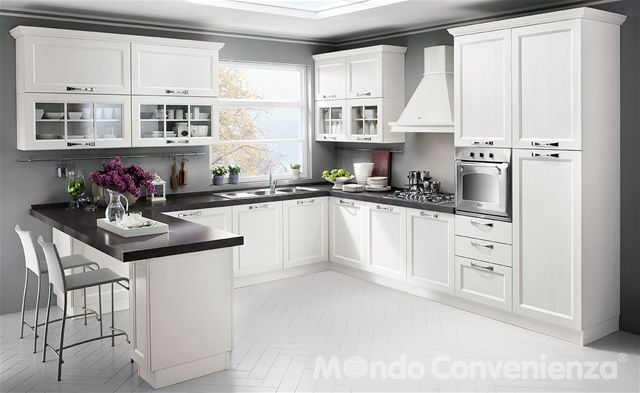 Louisiana - Cucine - Moderno - Mondo Convenienza | CUCINE | Kitchen ...