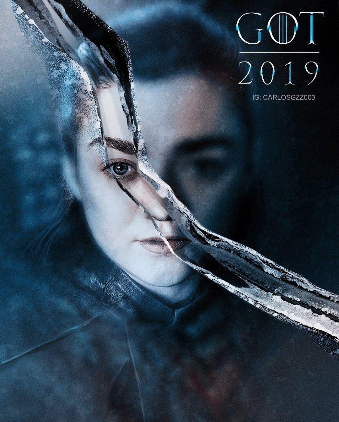 The End Arya Stark With Images Arya Stark Poster Artwork