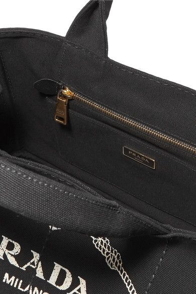 bb0227a8182840 Prada - Giardiniera Large Printed Canvas Tote - Black | Products ...