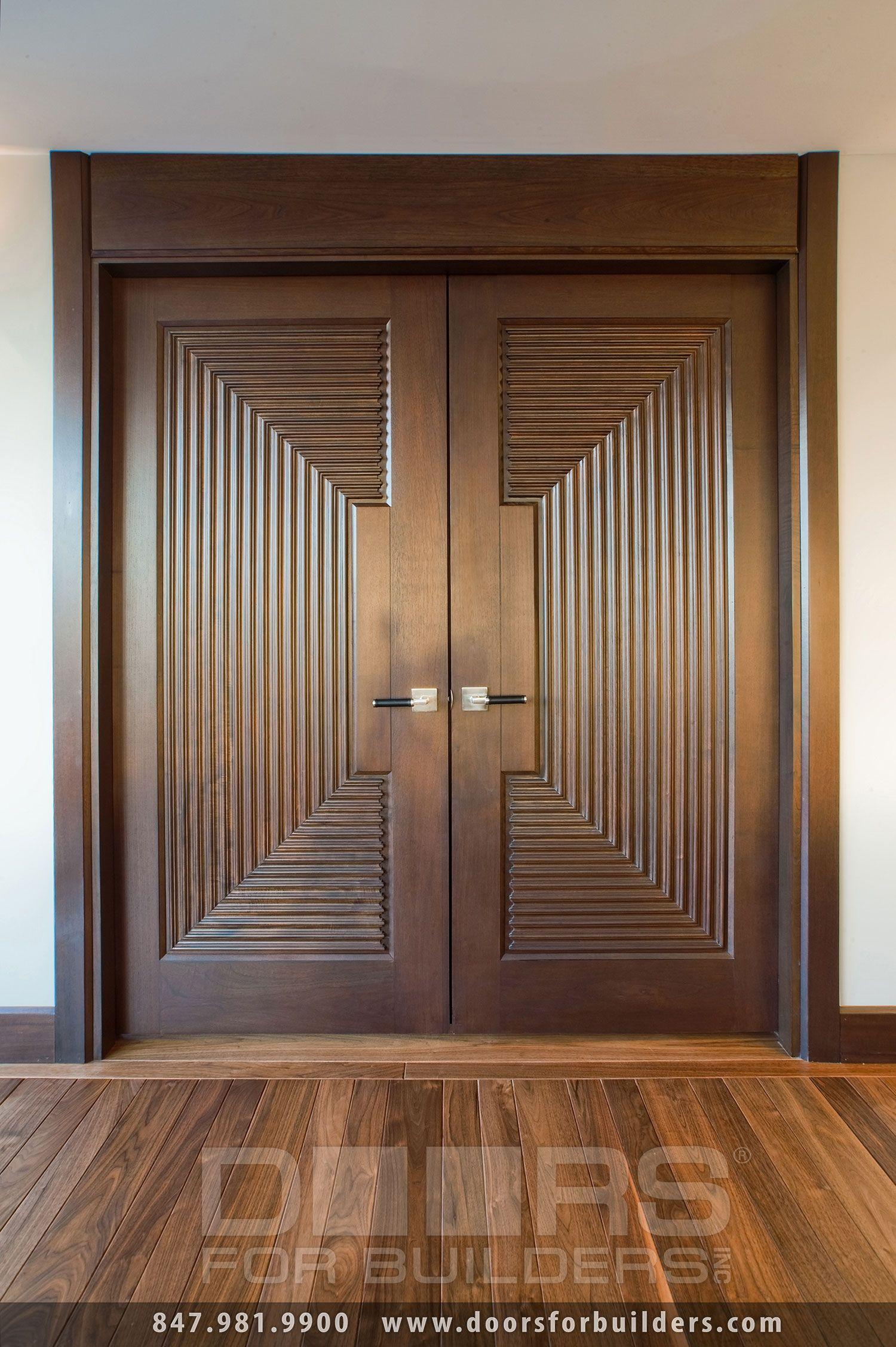 Solid Wood Double Doors Interior House Pinterest Double Doors