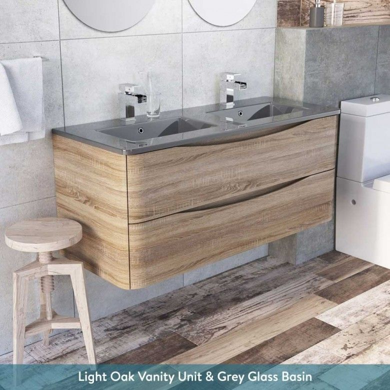 Harbour Clarity 1200mm Wall Mounted Vanity Unit Double Basin Basin Vanity Unit Double Basin Vanity Unit Vanity Units