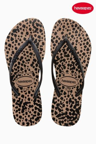 8e0f76487be20e Buy Animal and Black Havaianas® Slim Flip Flop online today at Next  France