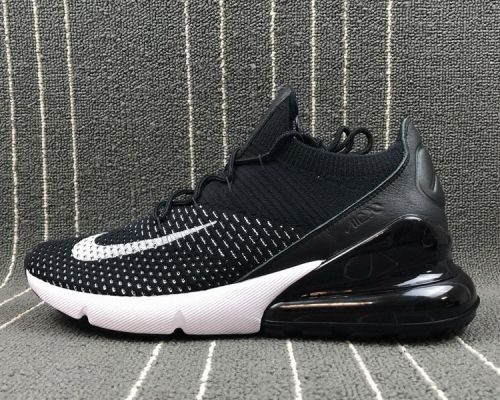 b379c54d8bd99d Real Nike Air Max 270 Flyknit Oreo Black Black-White - Mysecretshoes ...