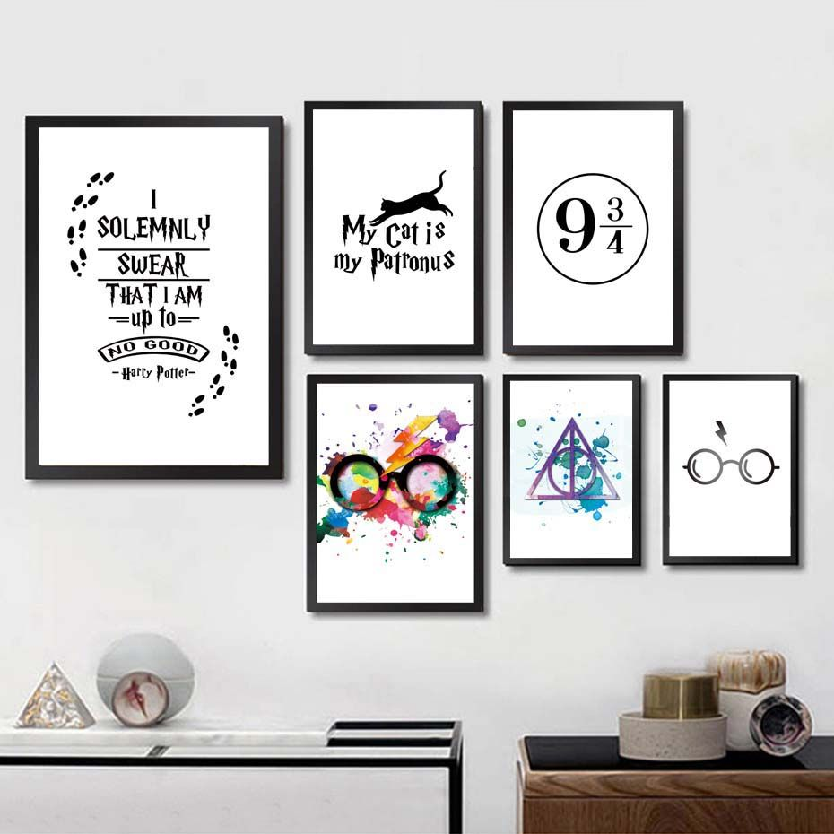 Idea By Aubrey Evensen On Bedrooms Ideas In 2020 Harry Potter Wall Painting Harry Potter Wall Art Harry Potter Room Decor