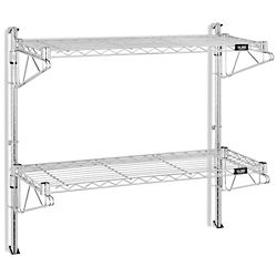 Wall Mount Wire Shelving 36 X 12 X 34 H 5436 Wire Shelving Shelving Wall Mount