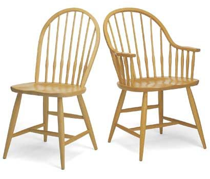 Windsor Dining Chair. From Pompanoosuc Mills. American hardwood furniture. Hand crafted in Vermont  sc 1 st  Pinterest & Windsor Dining Chair. From Pompanoosuc Mills. American hardwood ...