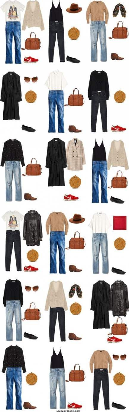 New Travel Outfit Ideas Summer Casual Capsule Wardrobe 50+ Ideas #travelwardrobesummer