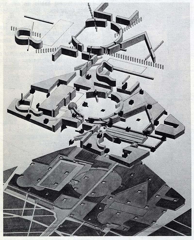 Bernard Tschumi. L'invention Du Parc. Graphite 1984: 36