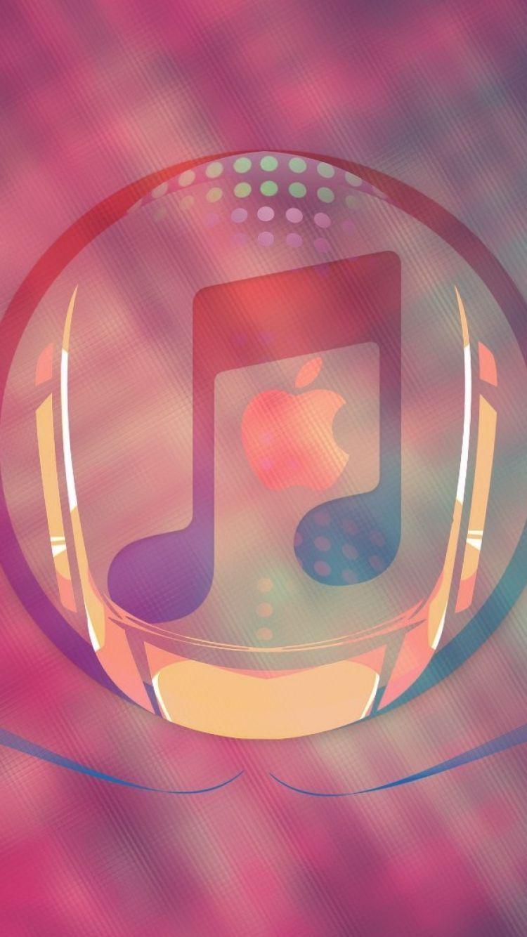 Music Apple Logo iPhone Wallpaper