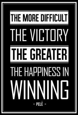 Winning Quotes Endearing Pele Winning Quote Poster At Allposters  Soccer  Pinterest .