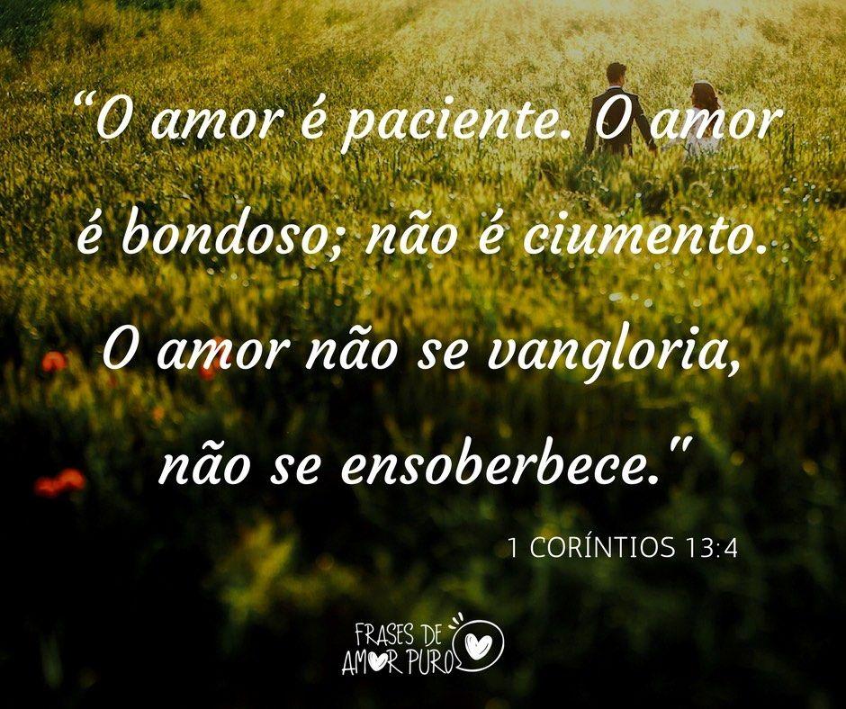 O Amor E Paciente O Amor E Bondoso Nao E Ciumento O Amor E