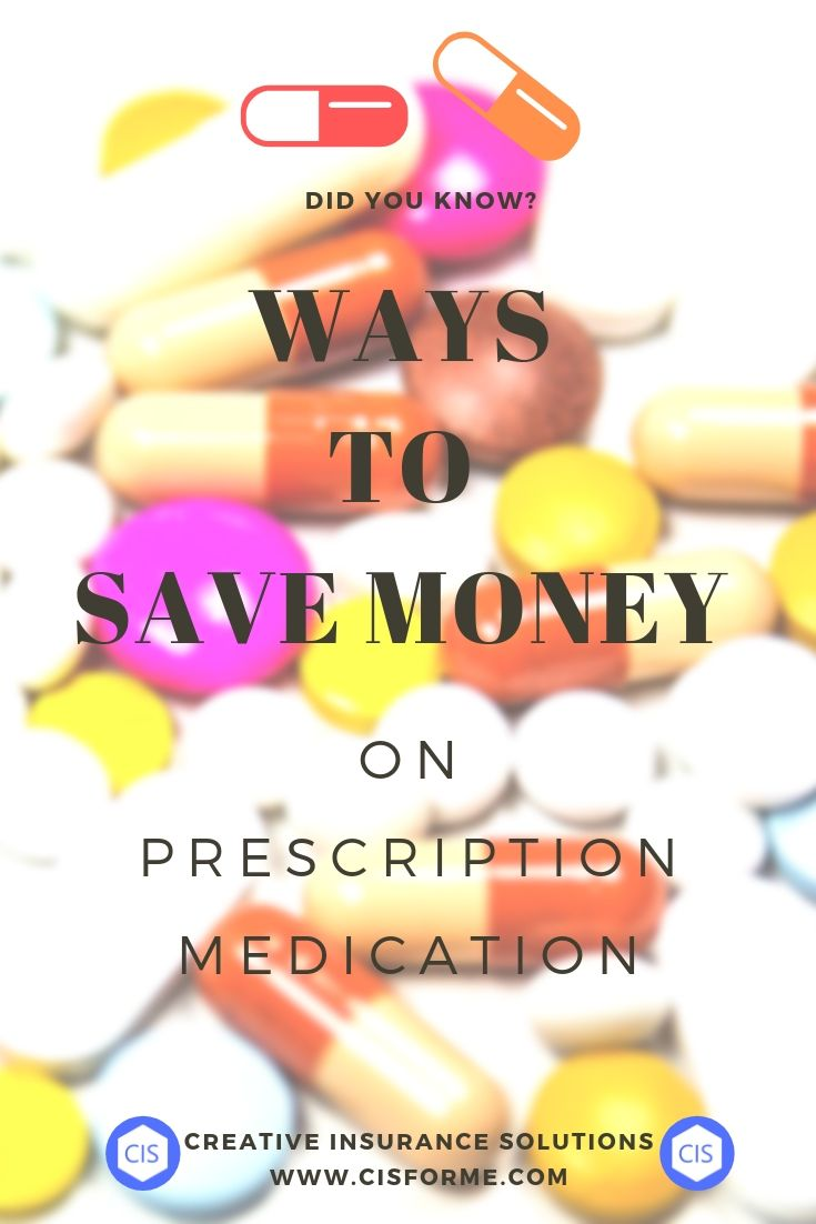 Did you know ways to save money on prescription