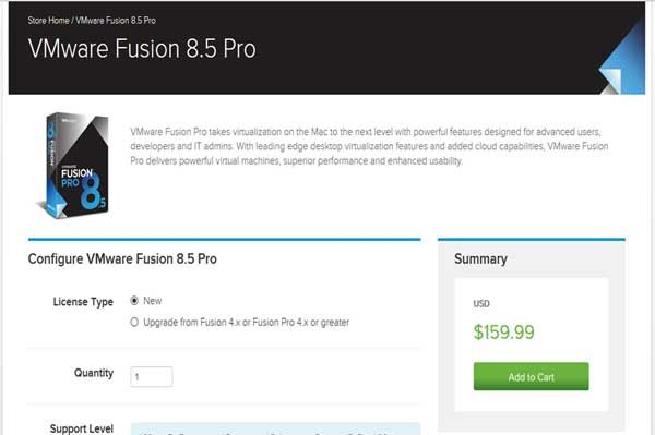 Save up to 33% on VMware Fusion Pro8 You will use VMware Promo Codes