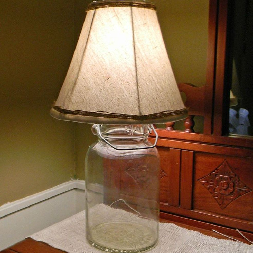 How to Wire Your Own Lamp Make a lamp, Farmhouse
