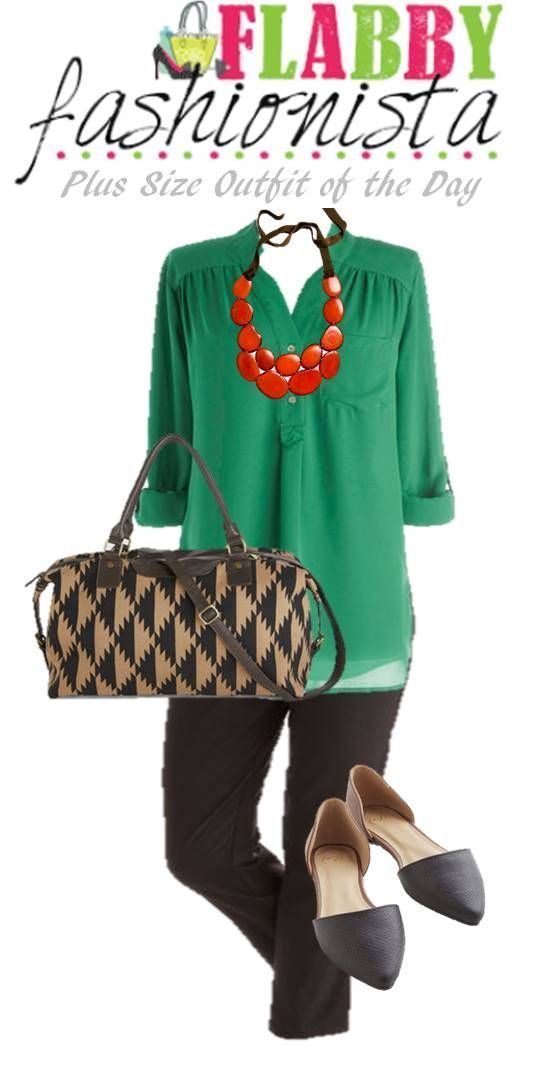 Photo of Plus Size Outfit of the Day – Green for Spring