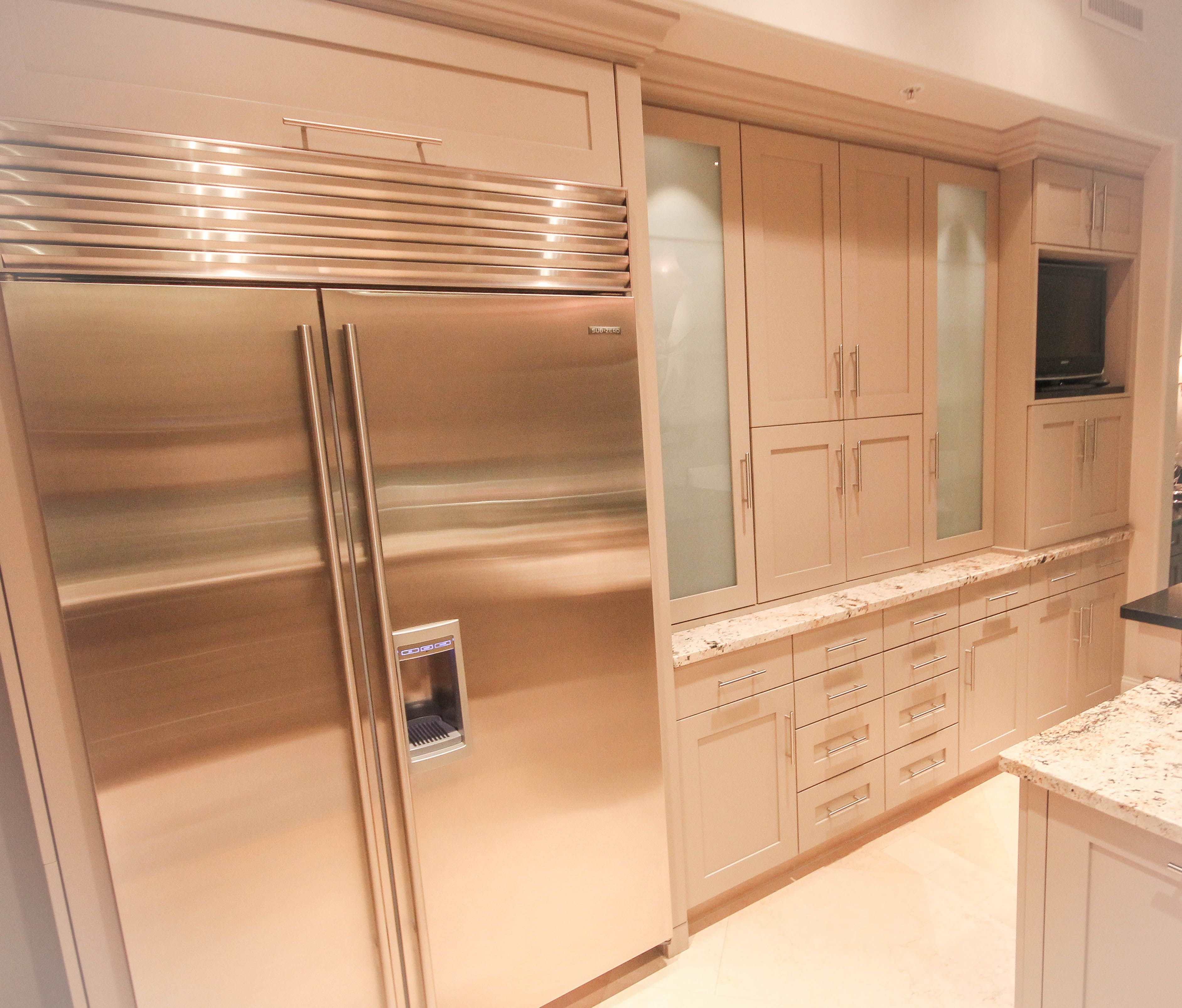 Kitchen Remodel #Transitional - Shaker Style Door Cabinets ...