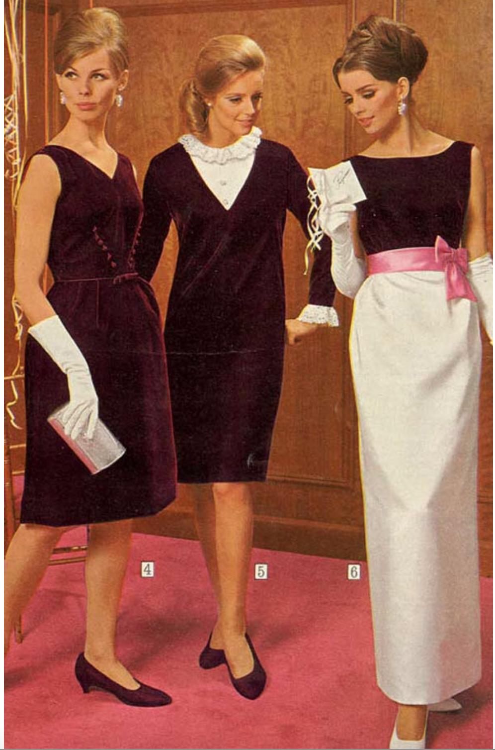 1965 Evening Wear Vintage Formal Dresses 1960s Dresses Dress Skirt [ 1508 x 996 Pixel ]