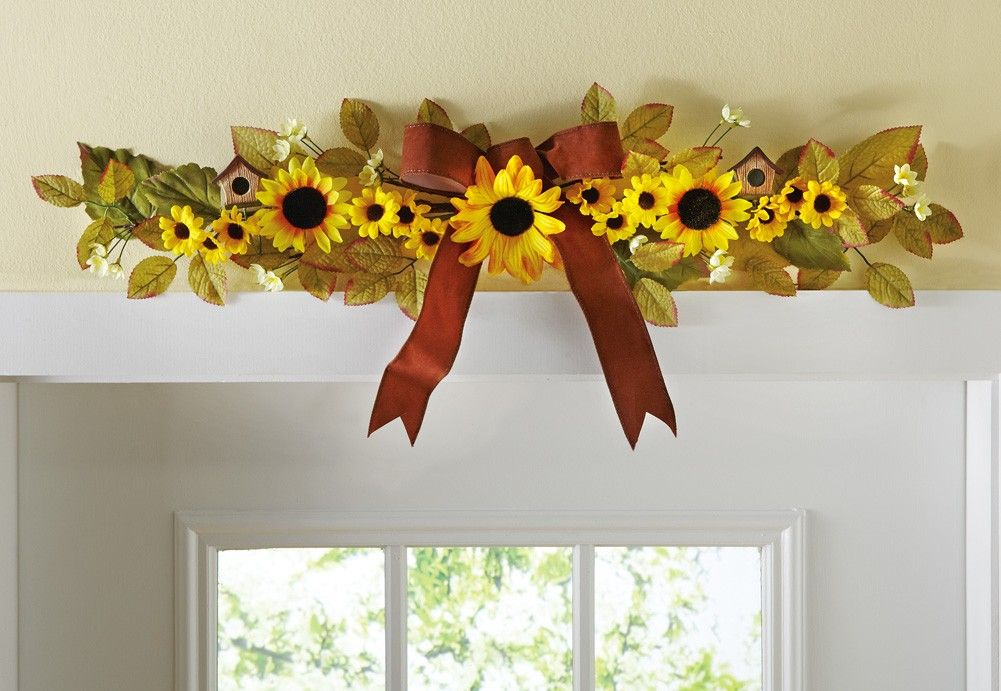 Sunflower Home Decor | sunflower decor @Liz Mester Mester Mester Rodriguez-Vargas