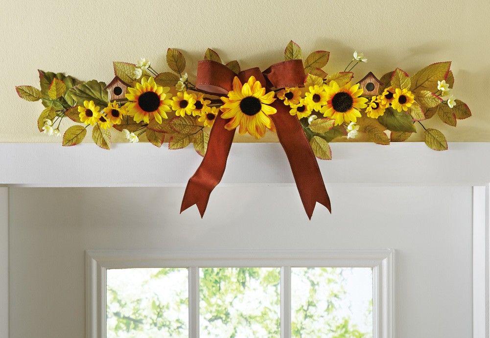 Sunflower Home Decor Sunflower Decor Sunflower Kitchen Decor