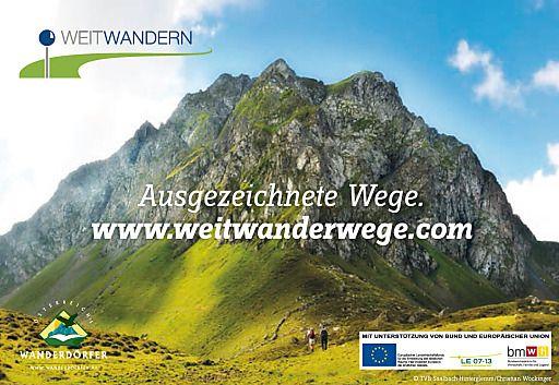 Ausgezeichnete Weitwanderwege auf www.weitwanderwege.com