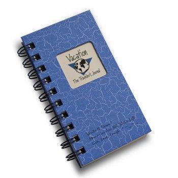Vacation The Traveler S Mini Journal Blue Wish List Mini