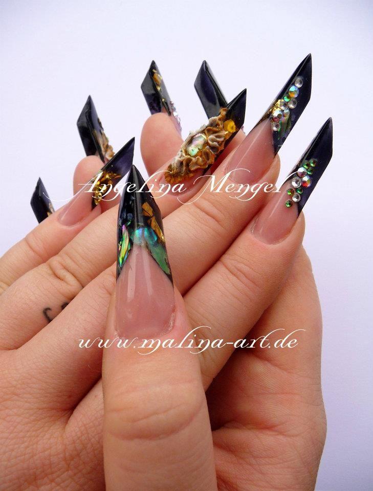 Angelina Mengel, Magnetic Nail Design | Nail Designs & Nail Art ...