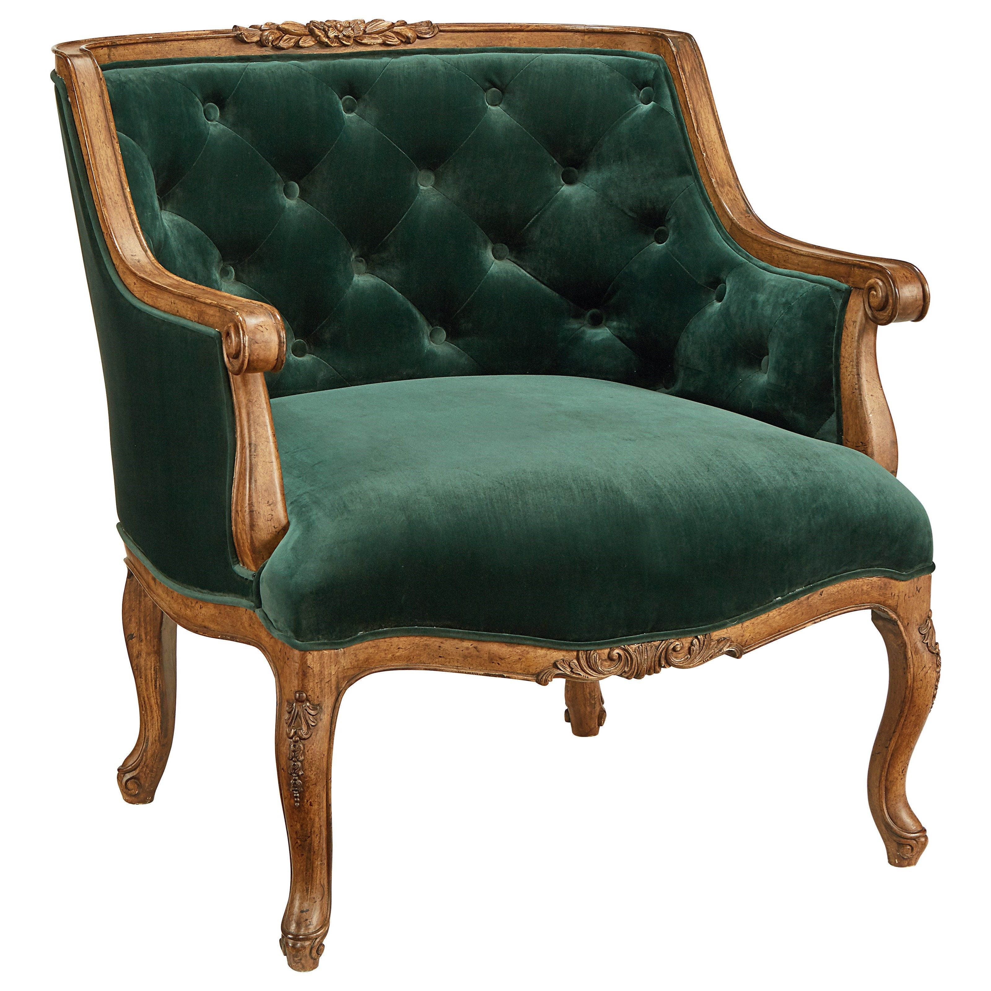 Image Result For Emerald Green Accent Chair