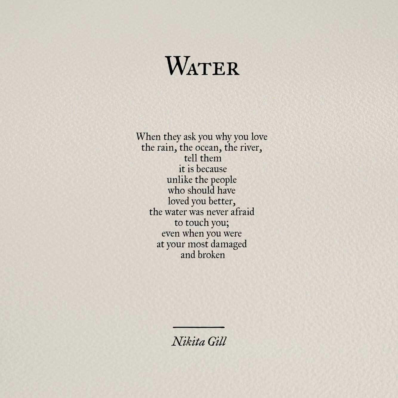 Water Love Quotes: Quotes, Poems, Poem Quotes