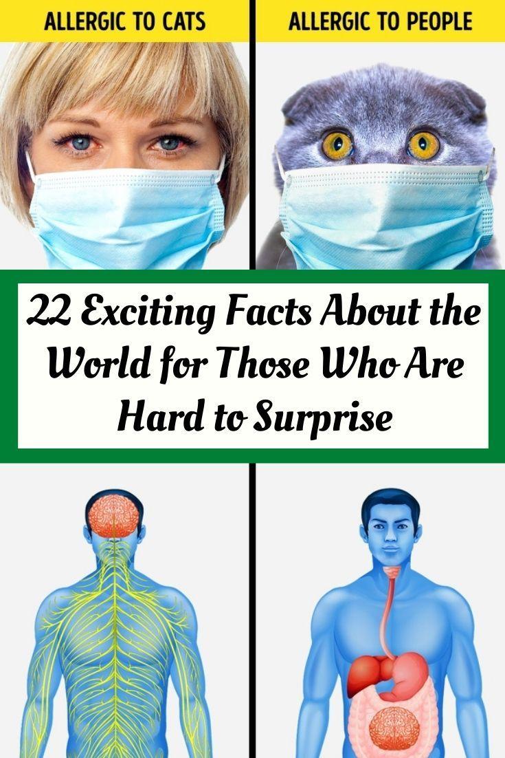 22 hechos emocionantes sobre el mundo para aquellos que son difíciles de sorprender