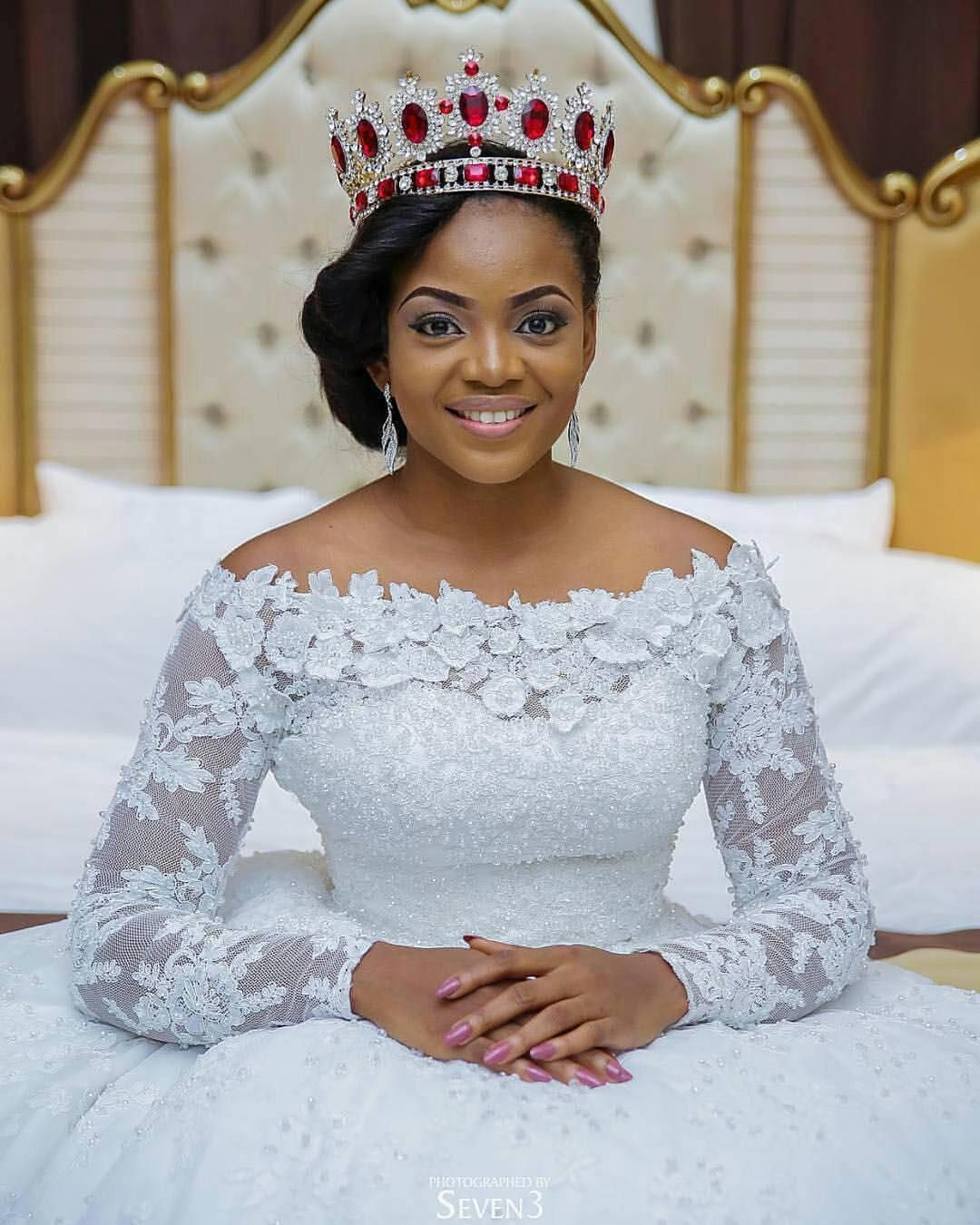 787 Mentions J Aime 5 Commentaires Nigerian Weddings Nigerianweddings Sur Instagram Nigerian Wedding Dress Plus Wedding Dresses Beautiful Wedding Dresses