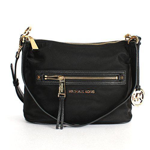 f2a86d2d63e1 Michael Kors Rhea Zip Medium Convertible Shoulder Bag Black