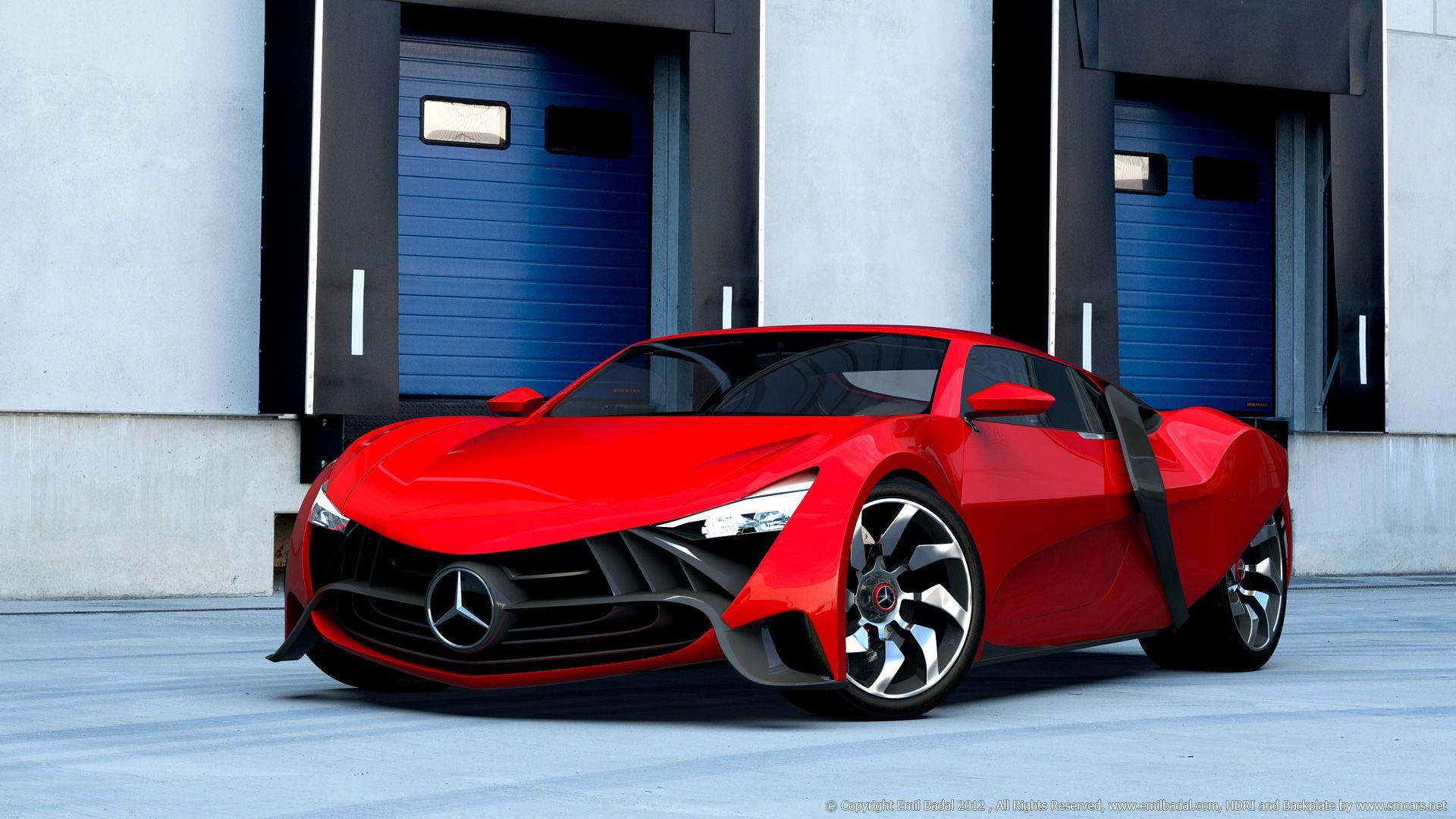 Mercedes SXR Concept