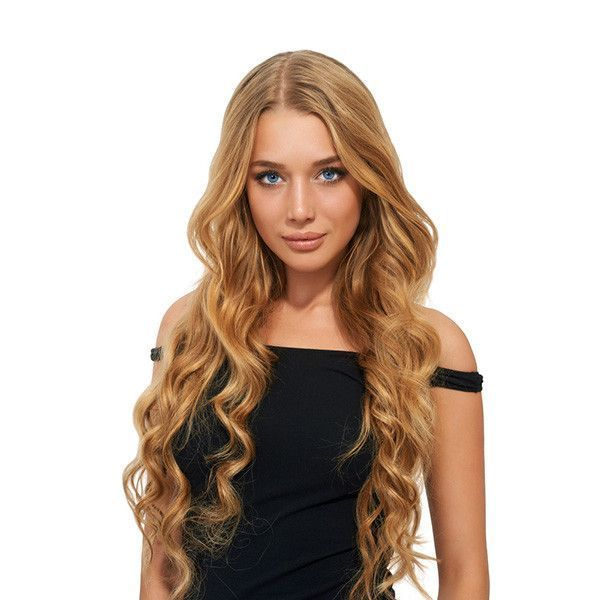 Tape In Remy Human Hair Extensions Wavy Texture Tape In Hair