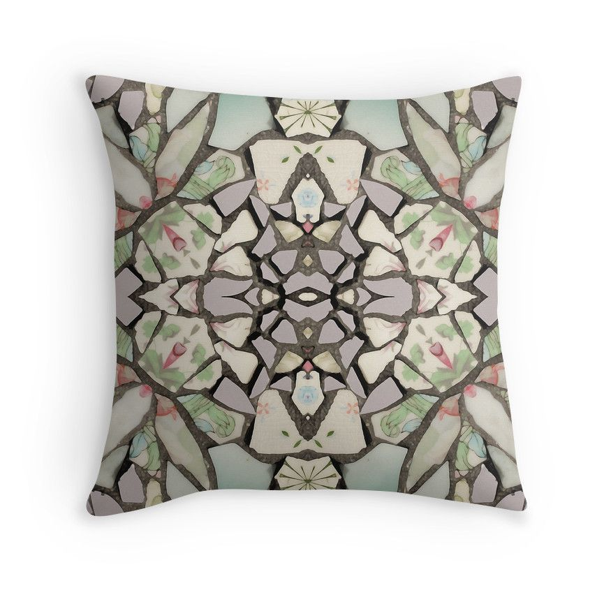 Throw Pillow Cushion Cover, Tile Mosaic