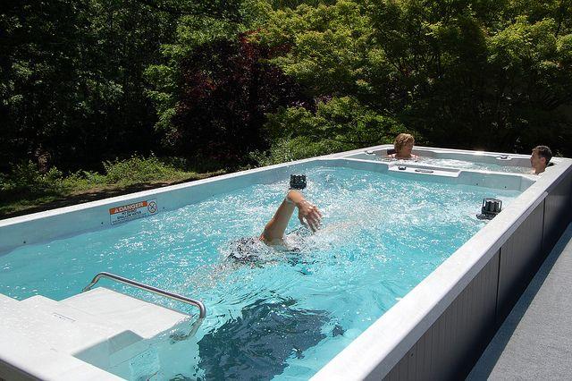 19\' Dual Temperature Endless Pool Swim Spa by Endless Pools ...