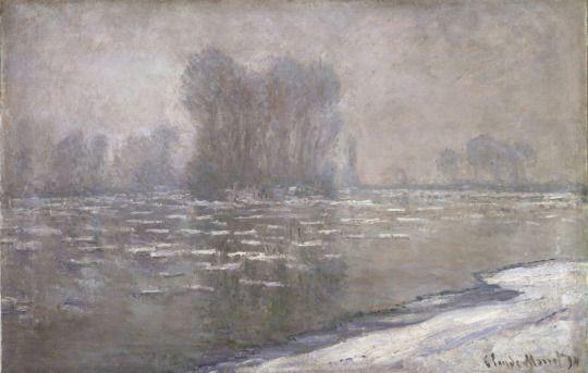 Claude Monet (French, 14 November 1840 - 1926) Morning Haze, 1894 Oil on canvas Philadelphia Museum of Art