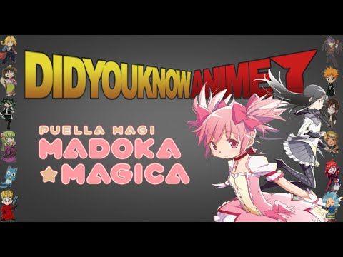 Puella Magi Madoka Magica Did You Know Anime Feat Kinenz Puella Magi Madoka Magica Anime Madoka Magica