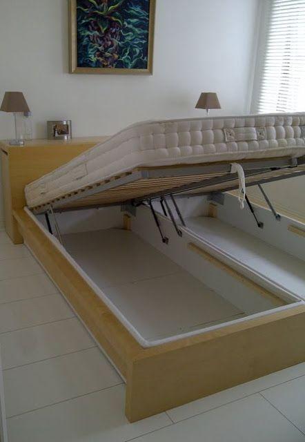 Best Ikea Hackers Light Diy King Lift Bed Malm Married 640 x 480