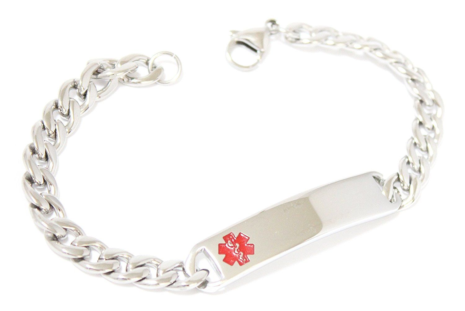 information medical bracelet id silver for diabetes uk bracelets canada american ideas usb super classic australia sterling