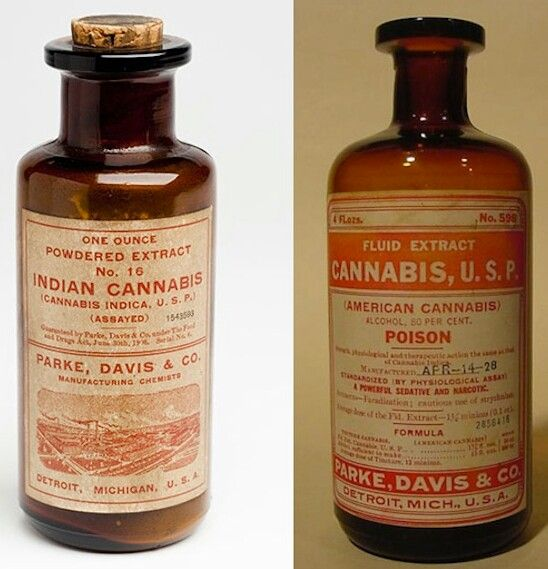 What medical marjuana looked like in 19th century