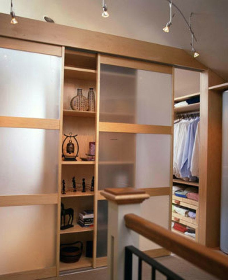 23 stylish closet door ideas that add style to your Rooms without closets creative