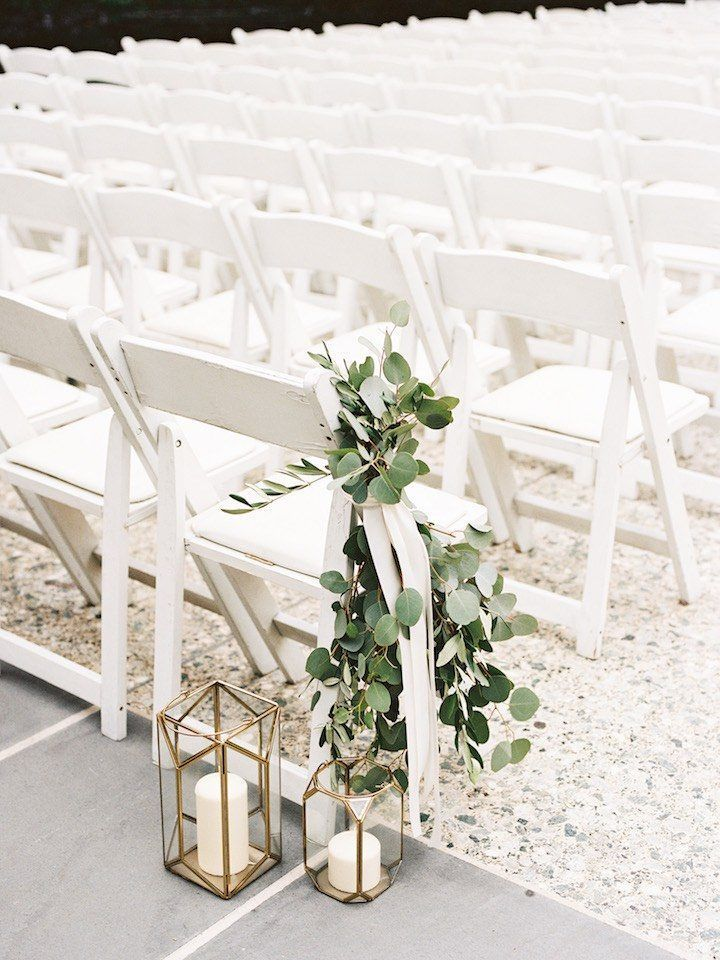 Gorgeous New York Wedding with Classic Style - MODwedding #ribbonflower