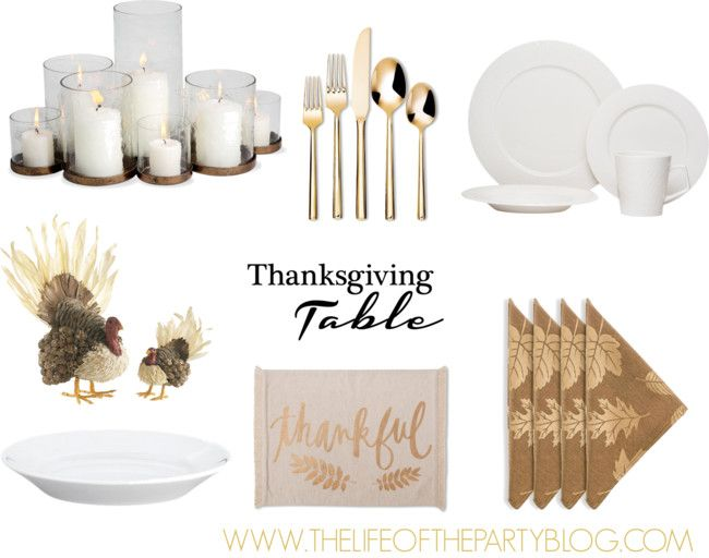 Thanksgiving Table - The Life of the Party