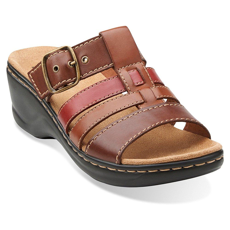 Clarks Women's Lexi Alloy Slide Slide Fashion Sandals ...