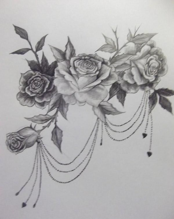 Browsing Deviantart Swirl Tattoo Tattoos Rose Tattoo Design
