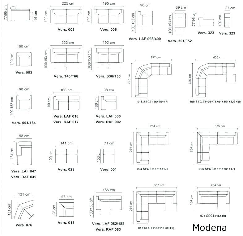 Living Room Furniture Standard, Standard Furniture Dimensions