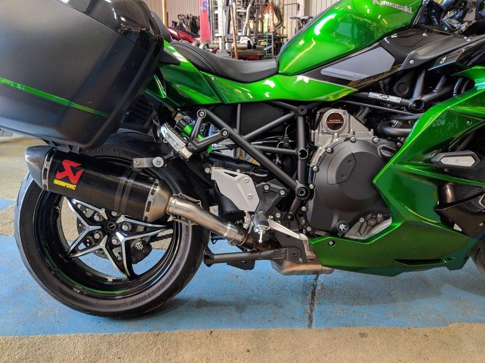 Details About Kawasaki Ninja H2sx H2se Ninja Performance Carbon
