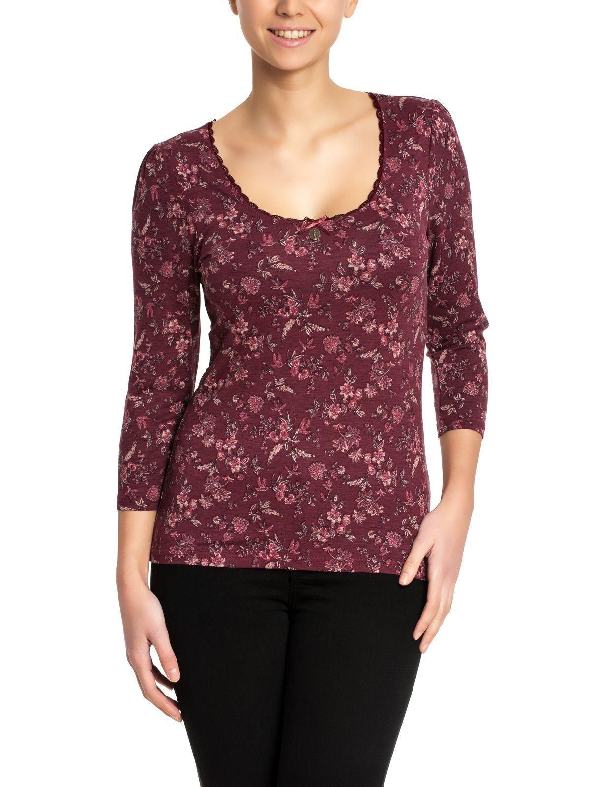 Fleurs Rouges Shirt | napo-shop.de