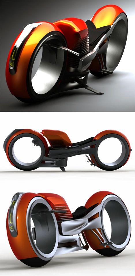 Concept Motorcycle Design Harley Davidson Circa 2020 From