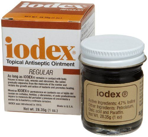Lee Pharmaceuticals Iodex, 1Ounce Jar Lee Pharmaceuticals
